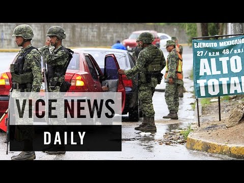 VICE News Daily: Mexican Troops Sent to Escaped Drug Lord's Hometown
