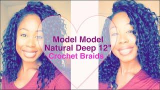 Model Model Natural Deep 12 Crochet Braids   Braiding Pattern