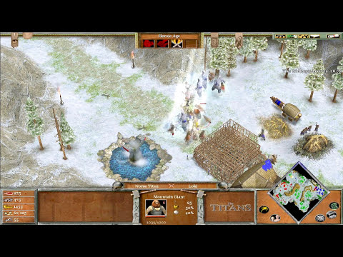 Age of Mythology The Titans w/ Arrancar #7 Titan Cerberus