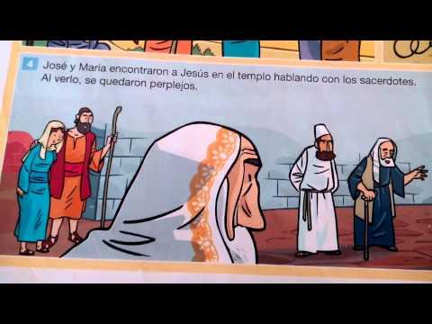 Jesús perdido en el Templo (Lc 2,41-52) - Colegio de La Presentación