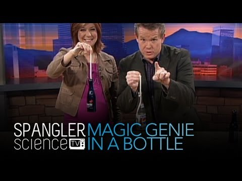 genie in a bottle cool science experiment