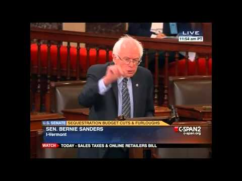 Senator Bernie Sanders on Corporate Tax Rates