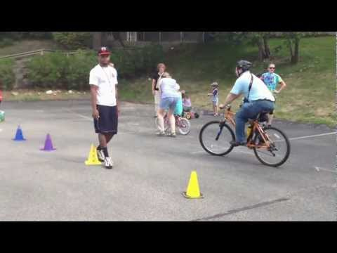 Olympics Bike-a-thon Campus Kinder Haus 8-10-2012