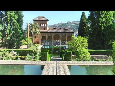 Alhambra - Granada, Andalusia, Spain in HD