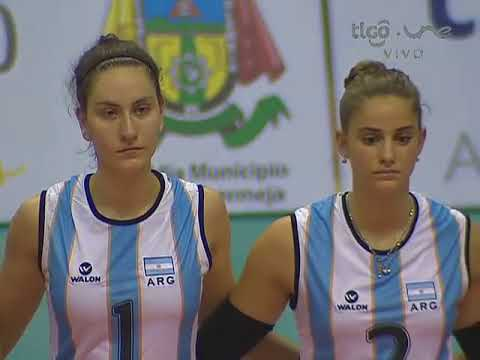 Campeonato Sudamericano de Voleibol Femenino Juvenil 2014 - Match #5: Perú vs. Argentina