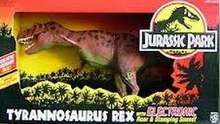 Jurassic Park Electronic Tyrannosaurus Rex Unboxing