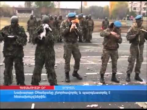 Armenian Army Vs Azerbaijan Army [HD]