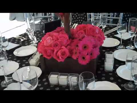 Manzanita Centerpieces at Cairnwood