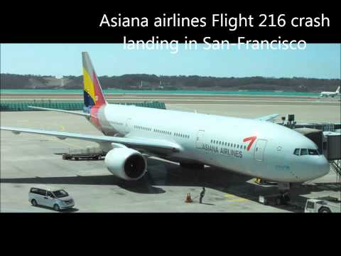 Asiana Airlines Last signs before crash [ATC VOICE+subtitles]