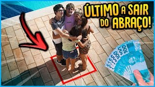 1 VS TODOS: ULTIMO A SAIR DO ABRAÇO GANHA 5000 R$!! [ REZENDE EVIL ]