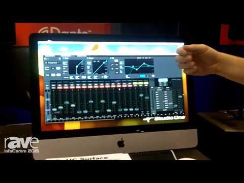 InfoComm 2015: PreSonus Displays the UC Surface, a Control Protocol