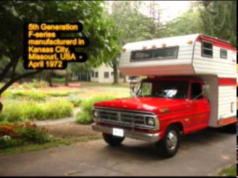 1972 Ford F350 Pickup Camper Special Class C Rv Youtube