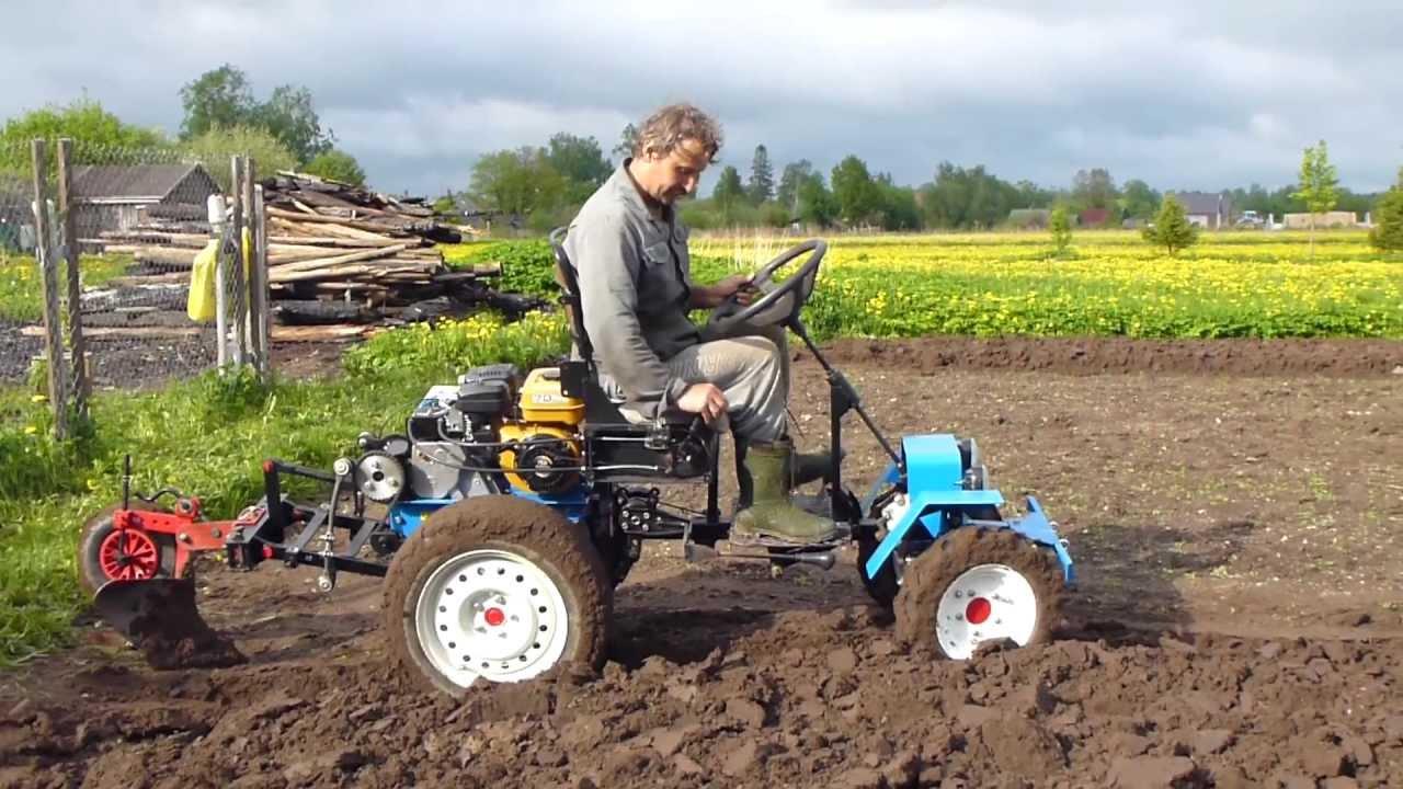 Трактор из мотоблока нева своими руками фото чертежи видео
