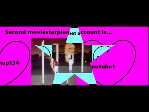 Moviestarplanet free accounts they all work youtube