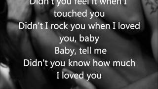 Didn't You Know How Much I Loved You (Lyrics) Kellie Pickler