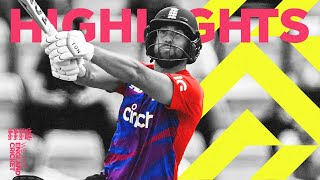 England v Sri Lanka - Highlights | Another victory for England! | 3rd Men's Vitality IT20 2021