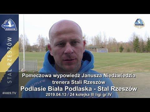 #H69.TV |KONFERENCJA| Podlasie Biała Podlaska - Stal Rzeszów |2019.04.13|