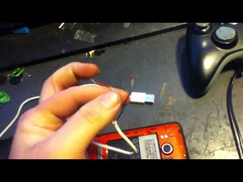 how to fix a broken phone charger port