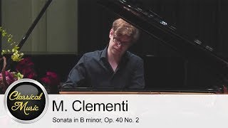 Muzio Clementi - Sonata in B minor, Op  40 No  2 | Adam Tomaszewski