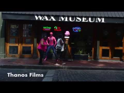 """Like"" us on facebook! http://www.facebook.com/thanosfilms Follow us on twitter! http://twitter.com/thanosfilms Spider-Man comes to life at a wax museum. Sha..."