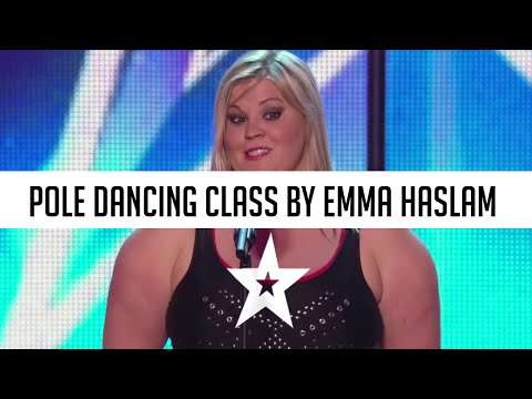 Proving anybody can be flexible and sexy, Emma showcases her saucy firework dance routine!