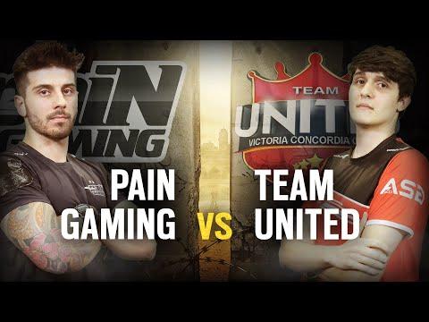 [BR] PAIN GAMING  vs. TEAM UNITED | Play Day #7 | EliteSix S02 (PC)