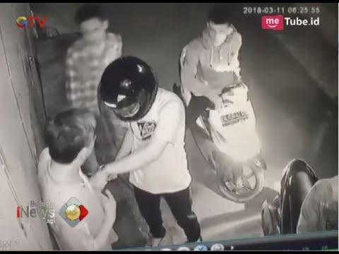 Viral Video Aksi Komplotan Rampok Memalak Pejalan Kaki yangTerekam CCTV di Medan - BIP 21/03