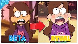 Gravity Falls | PILOTO vs. FINAL!