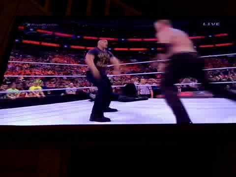 Wwe Royal Rumble Ending (the Rock Returns) 2015 video