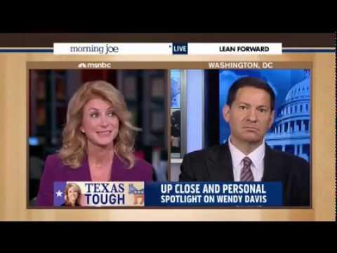 Wendy Davis on MSNBC's Morning Joe