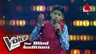 Jayath Manela | Dasa Nilupul Thema Blind Auditions | The Voice Teens Sri Lanka