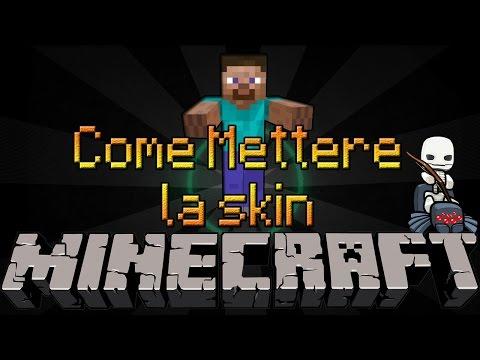 Come METTERE la SKIN su MINECRAFT 1.8 [SP & PREMIUM] - How to change skin on minecraft 1.8 [iVoz]
