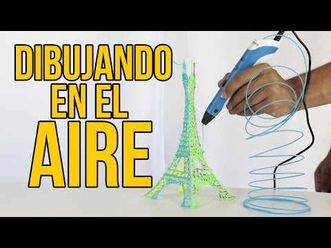 Cómo dibujar en el AIRE - LÁPIZ 3D ¿MERECE LA PENA? (Experimentos Caseros)
