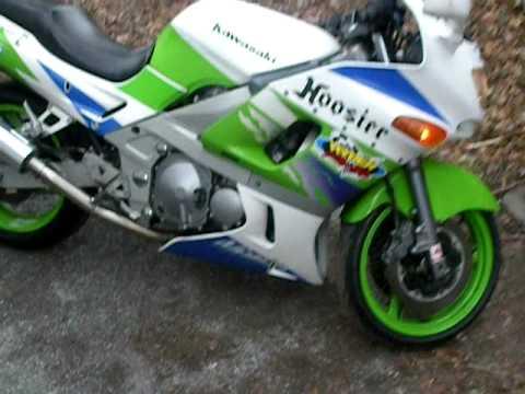 1994 Kawasaki Ninja ZX-6 (Muzzy Exaust)