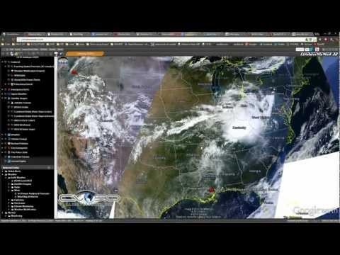 (26 September 2012) NASA J-2X Cloud Forming Rocket, Uranium Mine Fire, Severe Weather