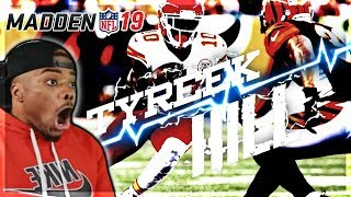 BLITZ TYREEK HILL ⚡ FASTEST MAN IN THE NFL!!! | GOD SQUAD #27 | Madden 19 Ultimate Team Gameplay