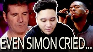 His Voice Is So Emotional That Even Simon Started To Cry Reaction