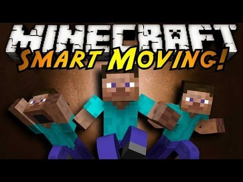 MINECRAFT REVIEW MOD 1.7.2   Smart Moving en español