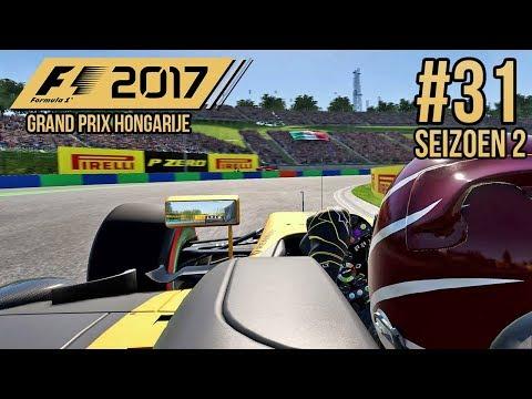 DRIFTEND LANGS RICCIARDO?! - F1 2017 Career Mode #31 (Seizoen 2: Hongarije)