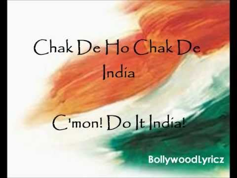 Chak De! India English Translation Lyrics
