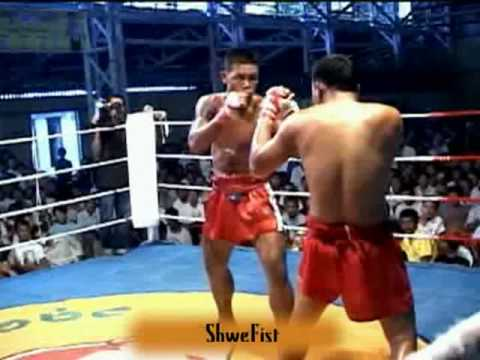 Myanmar lethwei, Don Nyo Lay vs. Royal Mya, 1/2 Image 1