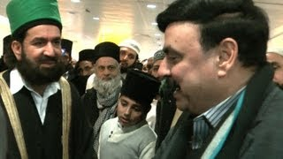 Sheikh Rasheed at Heathrow Airport London