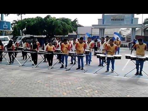 Konser Perdana Unit Drumband SMK YPT Pringsewu