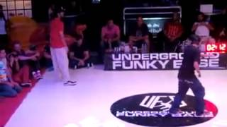 Brooke vs Jan - Poppin Semi Final - Underground Funky Base vol.6 TURKEY 2012