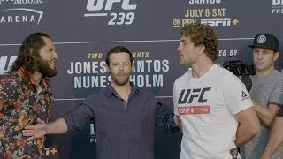 UFC 239: Media Day Faceoffs