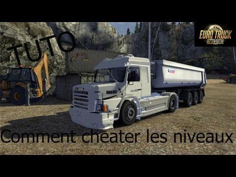 TUTO Comment cheater les niveaux sur euro truck simulator 2