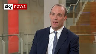 Dominic Raab: Government to 'test to the limit' law stopping no-deal Brexit