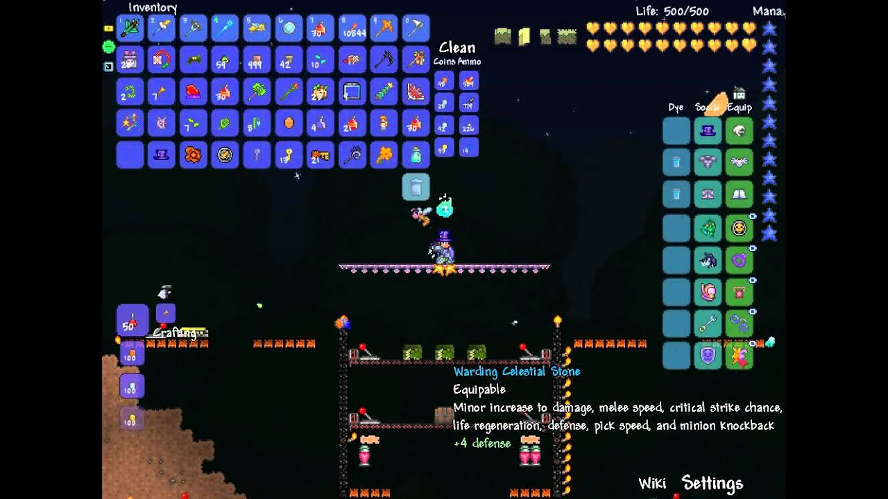 terraria how to make platform staris