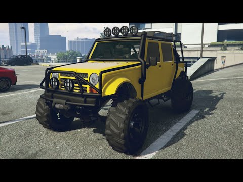 GTA 5 Online Merry Weather Jeep Spawn Location! Modified Canis Mesa Location (GTA 5 Rare Cars)
