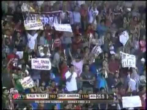 Brgy Ginebra vs Talk N Text Do or Die 4th Quarter 05-12-2013